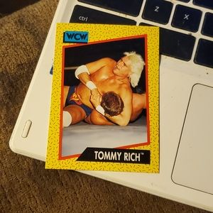Tommy rich wrestling card